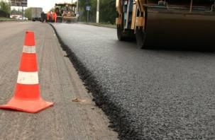 Отремонтирован участок дороги из Брянска в Смоленск