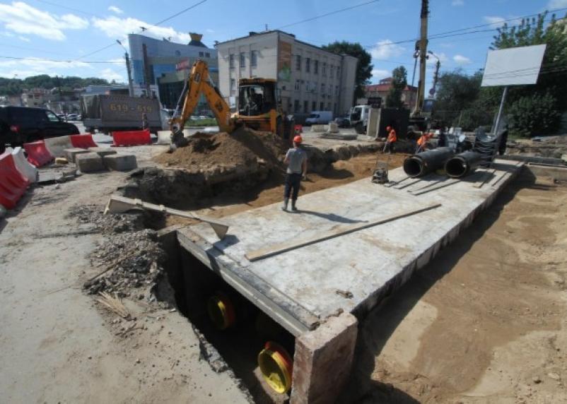 Пятницкий путепровод избавится от раскопок «Квадры» (фото)