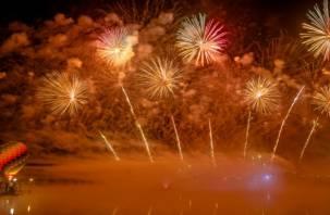 Фестиваль фейерверков «Смоленский звездопад»: как это было