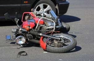 На трассе М1 лихач сбил насмерть мотоциклиста и скрылся