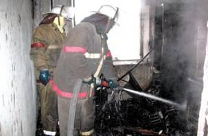 На Рыленкова в Смоленске горела квартира