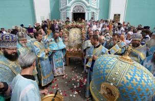 В Смоленске прошли Одигитриевские торжества. Фоторепортаж