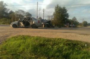 В Смоленском районе в ДТП пострадал водитель