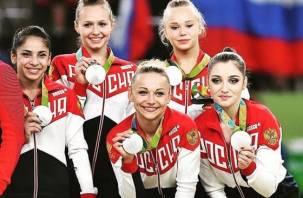 Смоленские гимнастки взяли серебро на Олимпиаде в Рио