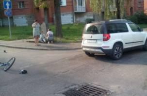 В Смоленске водитель сбил подростка на велосипеде