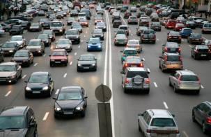 На тысячу смолян приходится 310 автомобилей