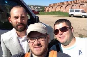 В Смоленске проходят съемки программы «Проводник»