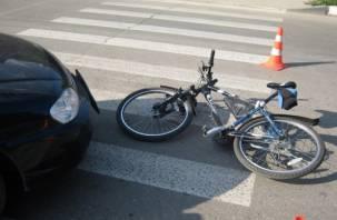 В Кардымове «Ока» сбила пенсионерку на велосипеде