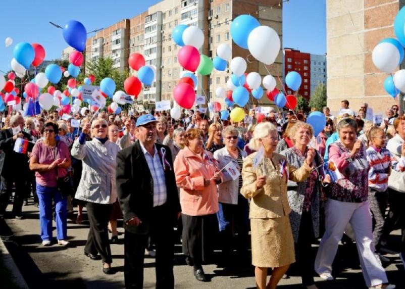 Десногорск принял парад созидателей