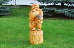 В Смоленских колониях прошел конкурс фигур из дерева