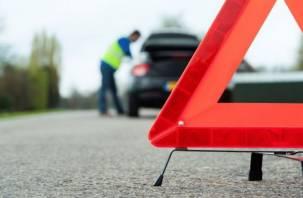 В Вязьме при столкновении автомобилей пострадала женщина