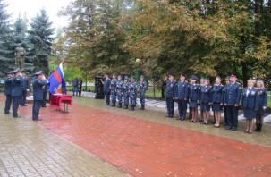 В Сафонове приняли присягу молодые сотрудники УФСИН