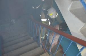 На улице Черняховского из-за пожара эвакуировали 8 человек