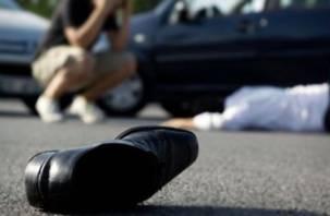 В Смоленске пешеход-нарушитель попал под машину