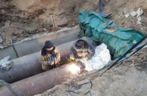 Стало известно, как на самом деле обстоят дела с ремонтом теплотрасс в Смоленске