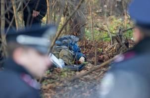 В смоленском лесу найден мужчина с огнестрельным ранением в голову