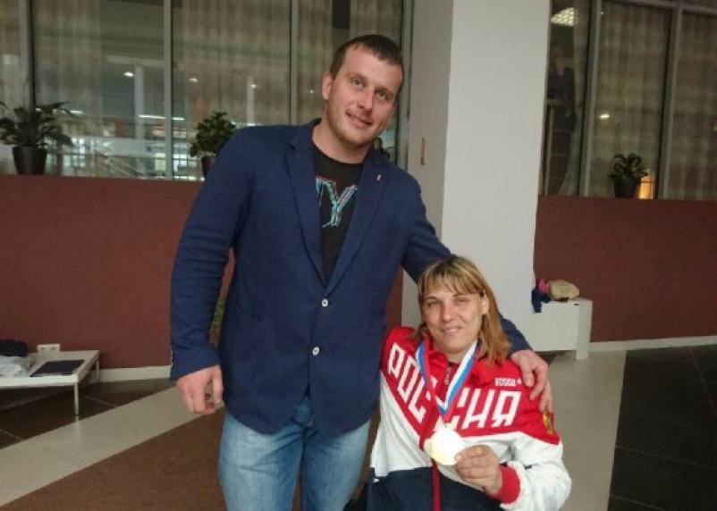 Елена Горлова завоевала две медали на паралимпийских соревнованиях