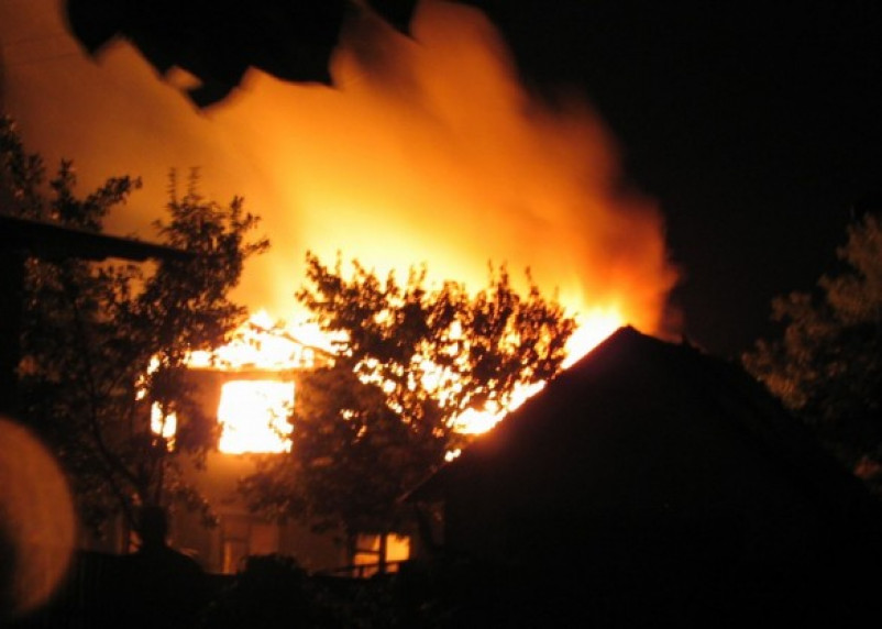 В Гагаринском районе в огне погибла женщина