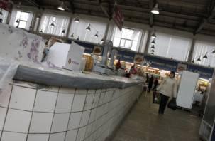 Заднепровский рынок оштрафован за антисанитарию