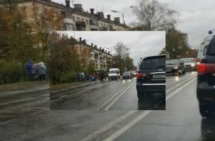 Сегодня на дорогах Смоленска были сбиты два ребенка