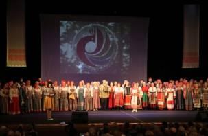 Конкурс исполнителей народной песни «Голоса России» завершился в Смоленске. Фото