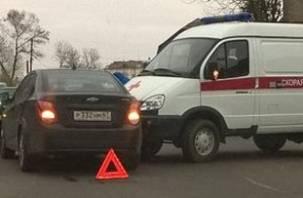 В Смоленске произошла авария с машиной «скорой помощи»