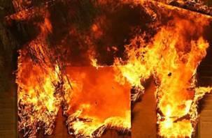 В Сычёвке при пожаре погиб человек