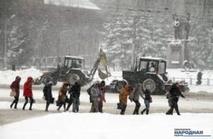 На Смоленск надвигается очередной снежный апокалипсис?