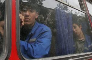 Пятерых узбеков выдворили из Смоленской области