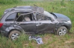 В Смоленске произошло ДТП. Пострадал человек