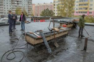 В Смоленске ускорили ремонт крыши детского сада после публикации в СМИ