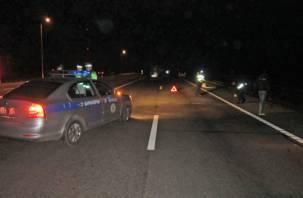 В Ярцевском районе на трассе М-1 столкнулись автомобили