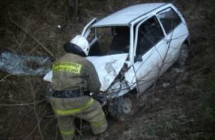 На Смоленщине водитель скончался, съехав в кювет