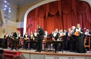 Оркестр имени Дубровского сорвал апплодисменты на первом в этом сезоне концерте