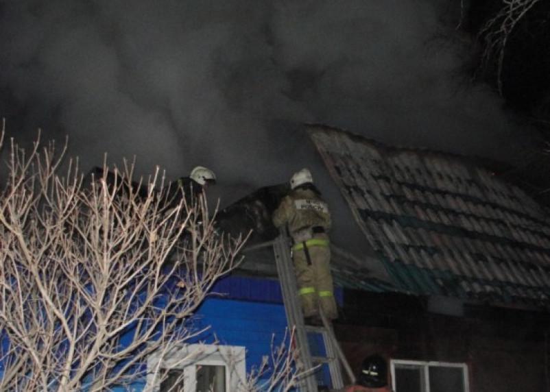 В Рудне в горящем доме погибла женщина