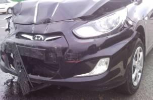 Два «Hyundai Solaris» столкнулись в Смоленском районе