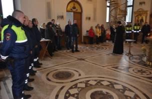 В Смоленске состоялась панихида по жертвам ДТП