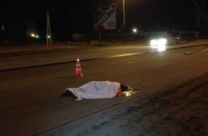 В Вяземском районе на трассе насмерть сбили женщину
