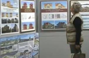 В Смоленске открылась архитектурная выставка