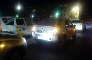Сафоновские таксисты организовали автопробег в день памяти жертв ДТП