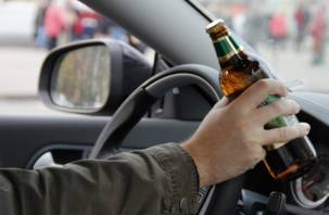 В Смоленской области становится меньше пьющих за рулем