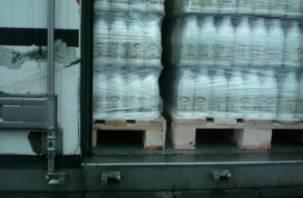 Белорусские молочные продукты не пропустили на Смоленщину