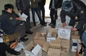 В Смоленской области мать и сын торговали контрафактным алкоголем