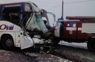 Спасать людей из искореженного автобуса приехал начальник областного ГИБДД