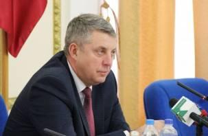Брянский губернатор рассказал о долгах Алексея Островского
