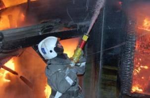 Эксперты опознали личности погибших в горящем доме смолян