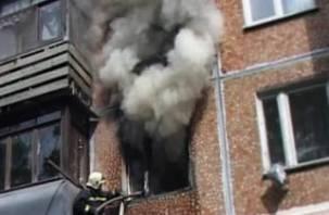 В Вязьме при пожаре мужчина отравился угарным газом