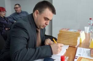 Алексей Казаков презентовал свою книгу о работе в Госдуме