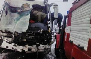 В больнице скончался водитель автобуса, пострадавший в ДТП под Сафоновом