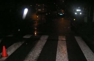 Смолянка попала под колеса автомобиля на «зебре»